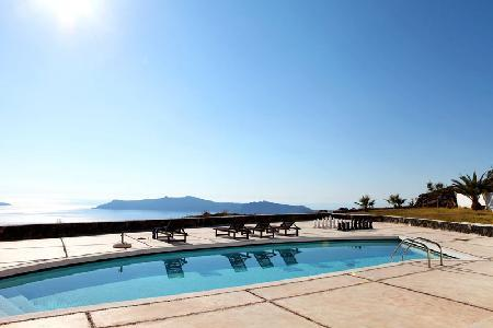 Periscope Villa - Luxury villa, panoramic views, sunsets & pool - Image 1 - Imerovigli - rentals