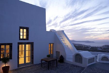 Cavana - Villa offers pool, rooftop Jacuzzi & sunset views - Image 1 - Pyrgos - rentals