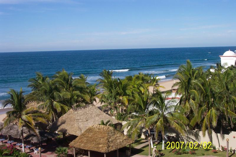 Beach From Balcony - Magnificent Beachfront Condo - Mazatlan - rentals