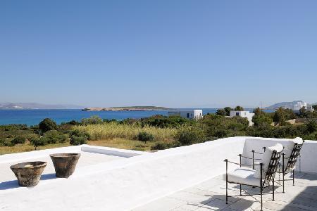 Ocean view Santa Maria Beach House-private access to beach & lush garden - Image 1 - Paros - rentals