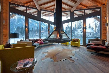 Chalet Cragganmore with sauna, massage room, gym, climbing wall and cinema room - Image 1 - Chamonix - rentals