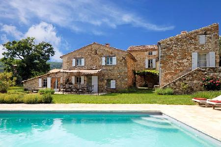 Charming Hillside Country House Le Vieux Chene with Private Heated Pool, Gardens & Views - Image 1 - Apt - rentals