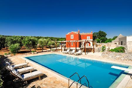 Countryside Masseria Villa La Cupina with pool, magnificent sunset views & close to beach - Image 1 - Mesagne - rentals