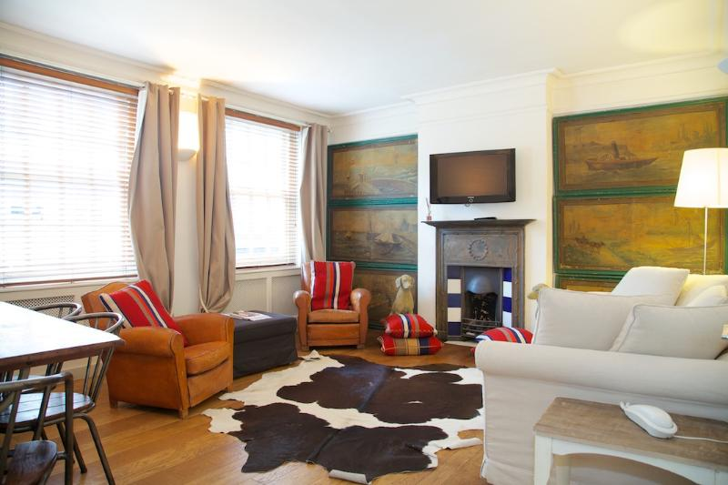 Living Room - Carlyle House. The heart of fashionable Chelsea - London - rentals