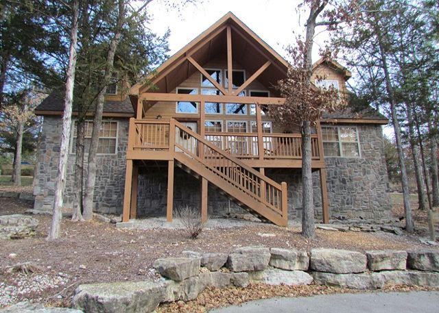 Front - Stone's Throw- Spacious 4 bedroom, 4 bath lodge at StoneBridge Resort - Branson West - rentals