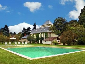 Les Doteulats Haut with the swimming pool - Beautiful Manor house with a large pool - Prayssac - rentals