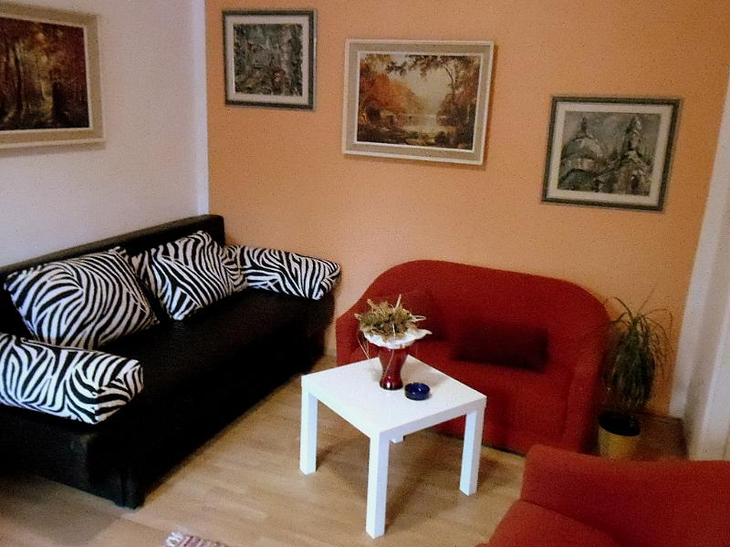 living room - Family apartment with terrace in Lovran(Opatija ) - Opatija - rentals