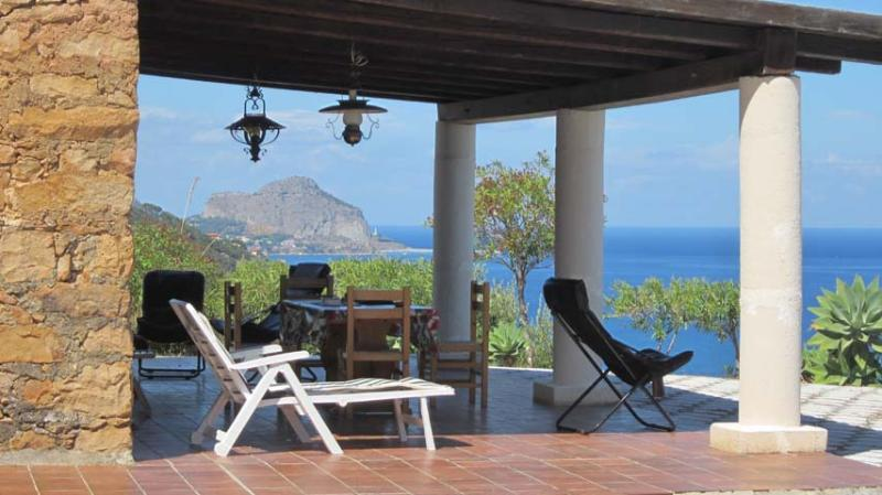 Villa with spectacular sea views - Image 1 - Cefalu - rentals