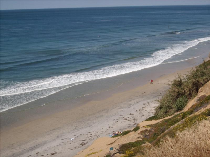 Local beach (Beacon's) - Hideaway Retreat 1 Block from Beacon's Beach - Encinitas - rentals