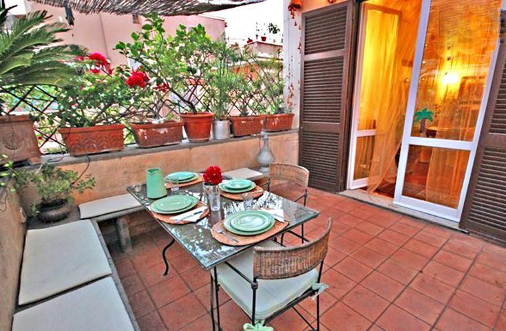 terrsce - Flower Penthouse in Monteverde - Rome - rentals