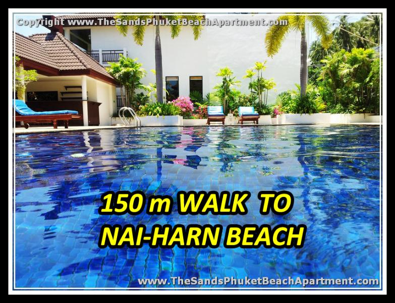 Beautiful Large Pool so close to the Superb Nai Harn Beach - New Lovely Beach Apartment @ Superb NaiHarn Beach - Nai Harn - rentals