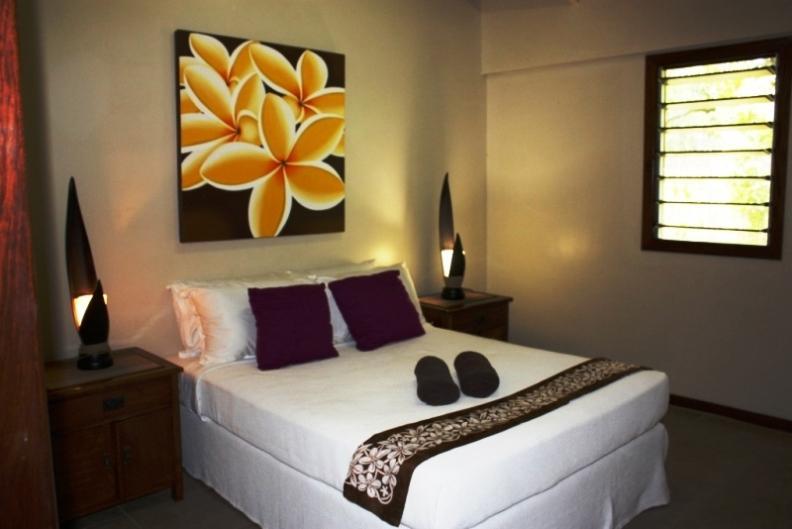 Double Bedroom - Garden Rooms (Formally Island Lodge) - Efate - rentals