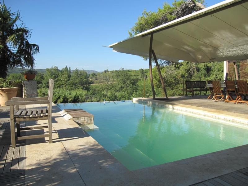 Nice pool - 5 rooms - Historical property - Bio swimming pool - Saint-Andre-de-Roquelongue - rentals
