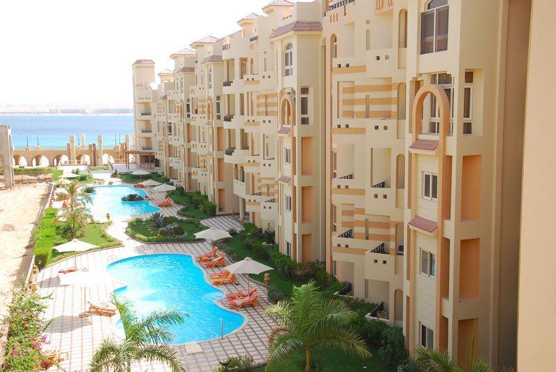 El Andalous pools and garden - Beachside luxury at El Andalous, Sahl Hasheesh - Hurghada - rentals