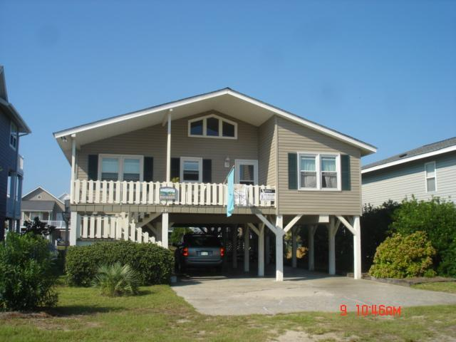Front - Blue and Gray - Ocean Isle Beach - rentals