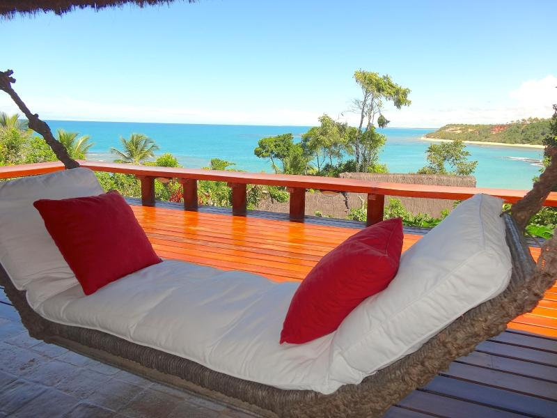 Hammock with amazing view of the sea - BAHIA BEACH HOUSE -Sea fronted in exclusive resort - Trancoso - rentals