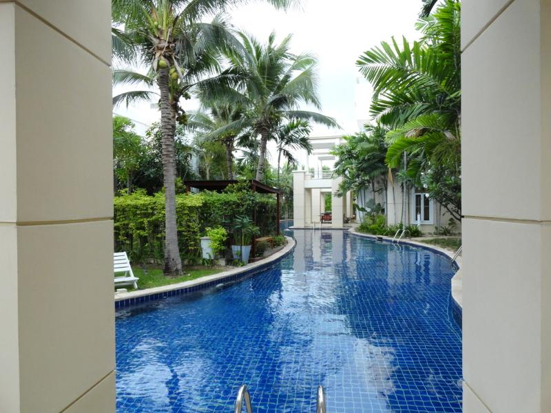 View from balcony - Sheraton Blue Lagoon Condo Hua Hin (private owner) - Hua Hin - rentals