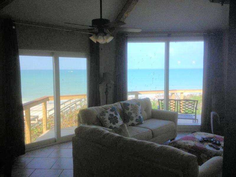 View from the living room - Brand New 4 BR Gulf Front House Open this season! - Englewood - rentals