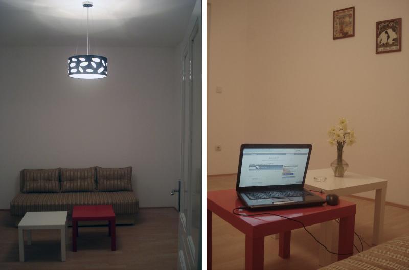 Living/sleeping/hanging/working room. - Newly renovated apartement - BELGRADE CENTER - Belgrade - rentals