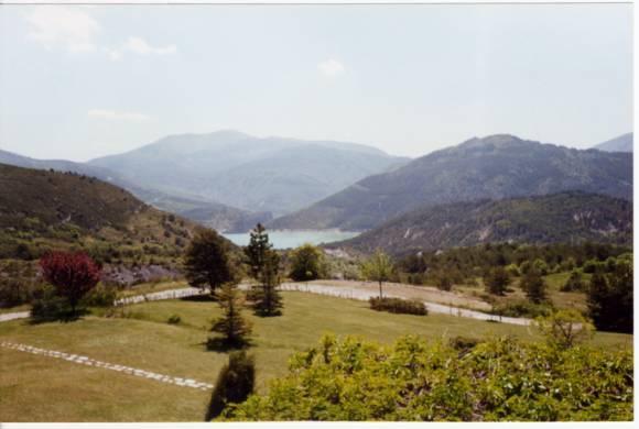 la vue - Excellent 1 Bedroom Vacation Rental with a Grill, Garden, Fireplace - Castellane - rentals