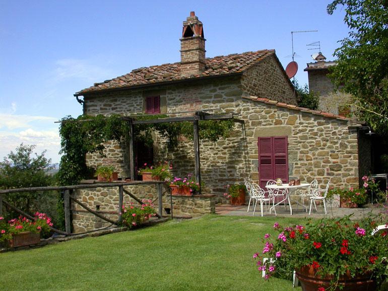 Casa Fontelunga, entrance level - Casa Fontelunga, ancient tuscan villa with pool - Cortona - rentals