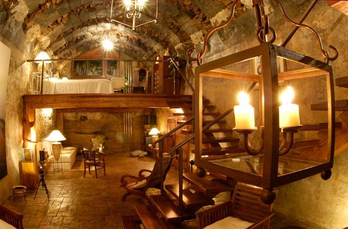 Master Bedroom and Living Room - El Aljibe | Rural Villas - Los Valles - rentals