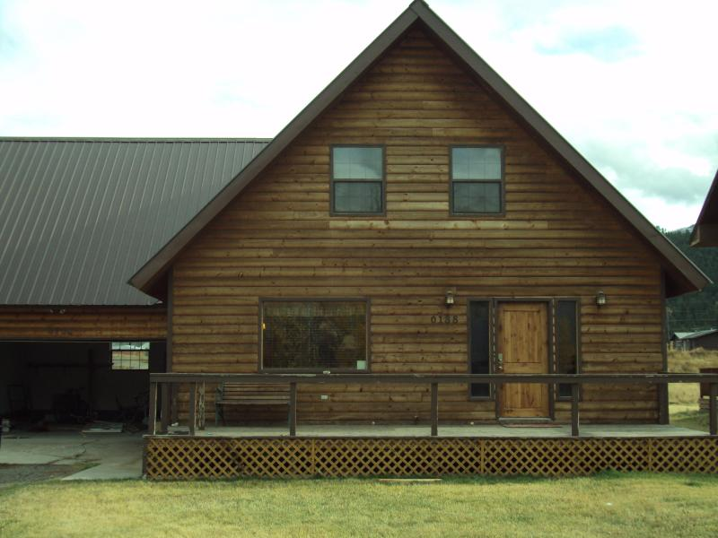 Exterior Front View of Home - Antlers Lodge - South Fork - rentals