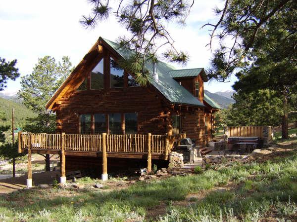 Silver Tree Home - Mountain Log Home Near Rocky Mountain National Prk - Estes Park - rentals