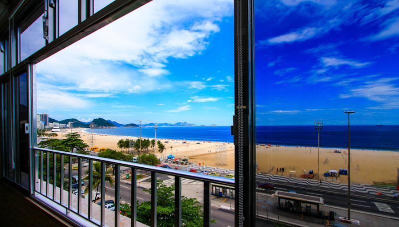 NICE COPA OCEANFRONT 3 BEDROOM - Image 1 - Rio de Janeiro - rentals
