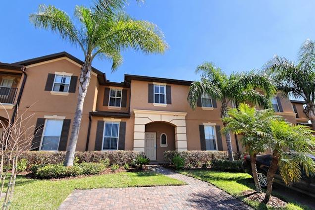 Front of Home - 3 Bed Luxury Home on Regal Palms Resort (122-REG) - Davenport - rentals