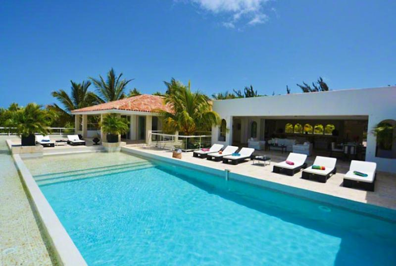 SPECIAL OFFER: St. Martin Villa 90 Absolutely Dazzling! With A Superb Open View To The Caribbean Sea, Baie Longue And Surrounding Areas. - Image 1 - Terres Basses - rentals