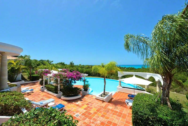 SPECIAL OFFER: St. Martin Villa 96 A Superb Private Home With 180º Views Of The Crystal Blue Waters Of The Caribbean And The Setting Sun. - Image 1 - Terres Basses - rentals