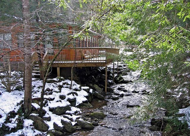 Norton Creekside #197- Cabin on the River - 1 bedroom cabin river side Gatlinburg TN walking distance to the parkway - Gatlinburg - rentals