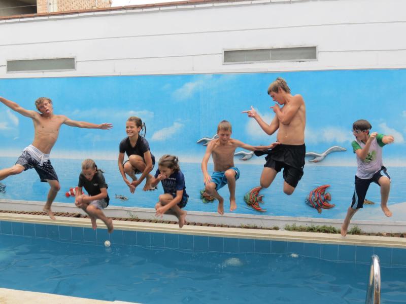 75m2 Flat + 420m2 space w/ pool BBQ fitness games - Image 1 - Lima - rentals