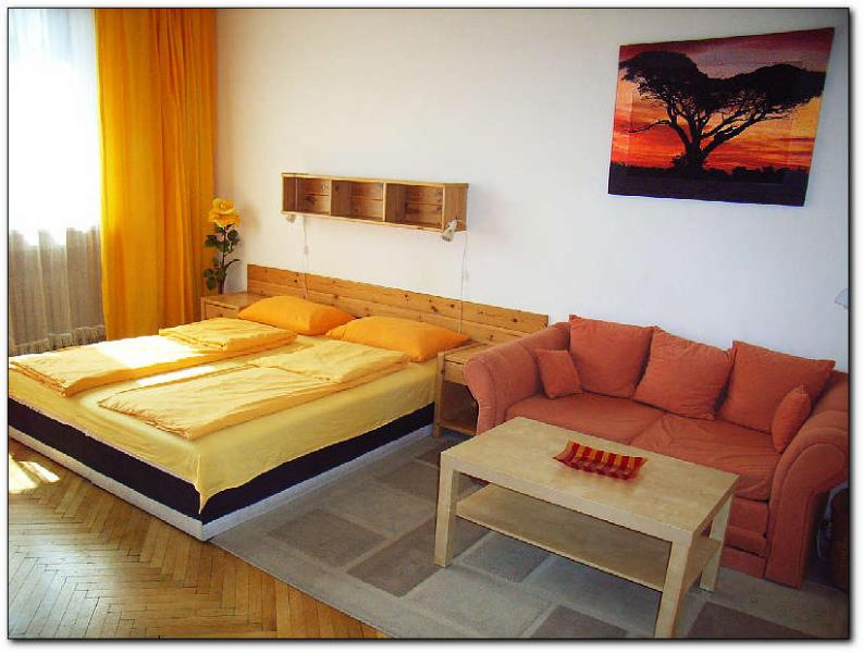 living bedroom - Machek´s apartments - Prague - rentals