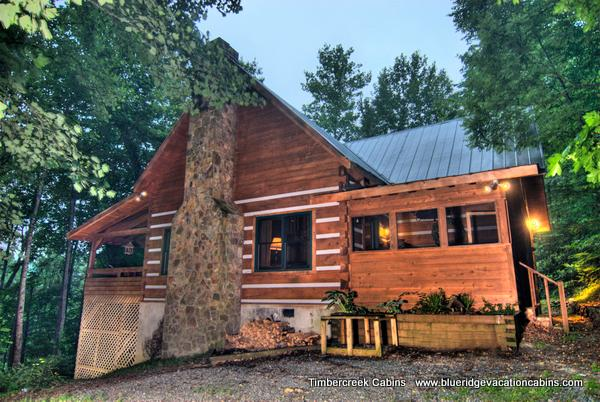 Two Cabins One Low Price*Hot tub*Creek*Firepit*AC - Image 1 - Valle Crucis - rentals