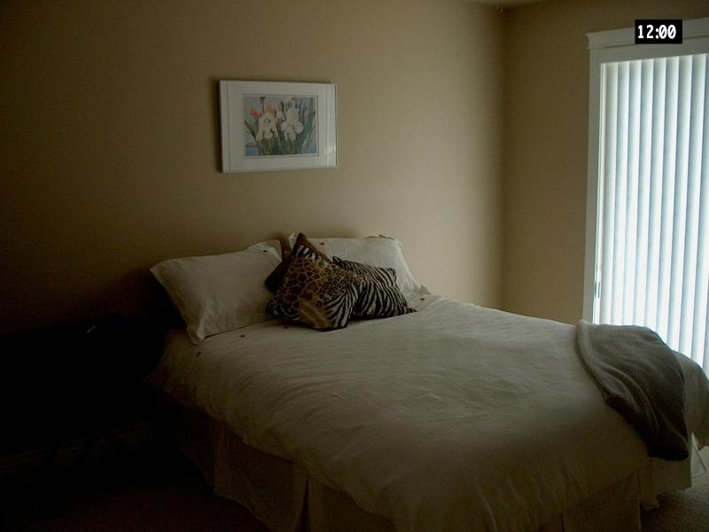 Master bedroom has ensuite with shower & overlooks pool - Lakeside Estates Condo at Mabel Lake - Enderby - rentals