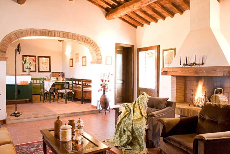 Casale Elsa - Loggia - Image 1 - Certaldo - rentals