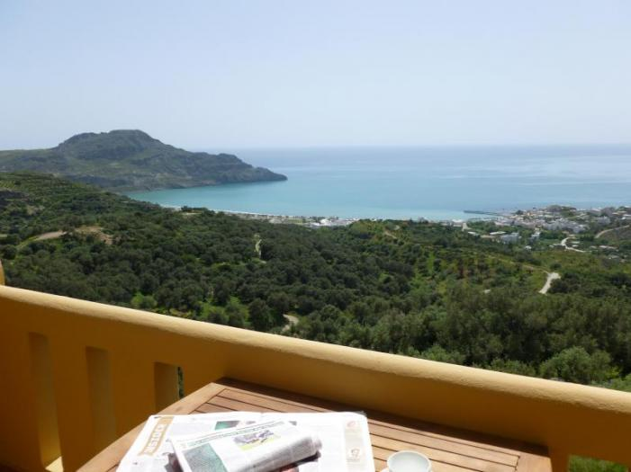 Panoramic view Of Plakias Bay - The Village Apartments - Rethymnon - rentals