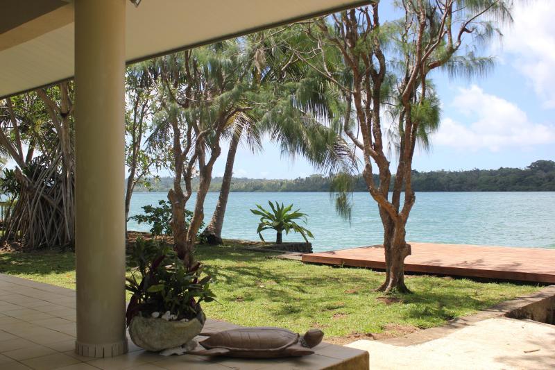 Great view from the terrace - VILLA HEIMANA - Port Vila - rentals