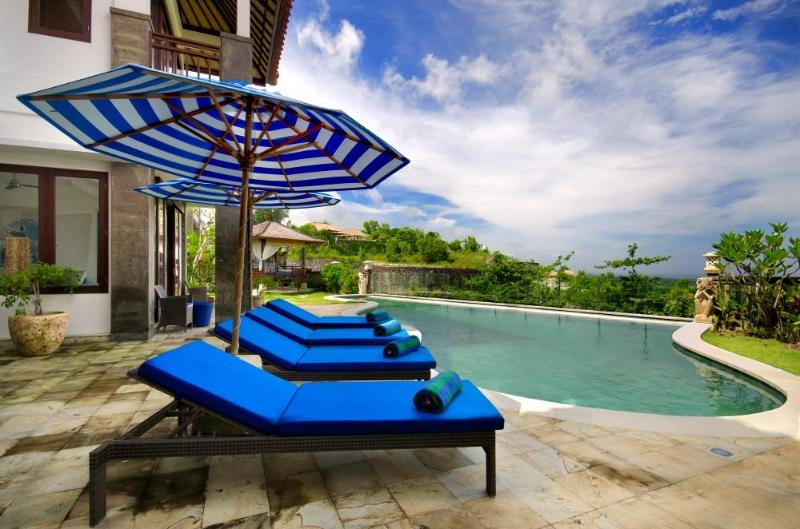 View from the Pool - Villa Bali Blue- 4/5 Bedrooms & Great Ocean Views - Jimbaran - rentals