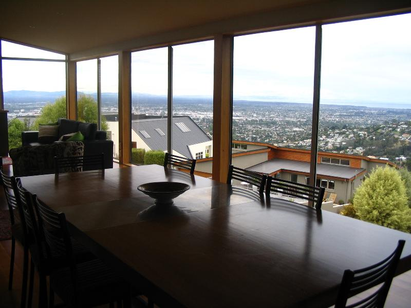 View from the living room - Onuku Bed and Breakfast - Christchurch - rentals