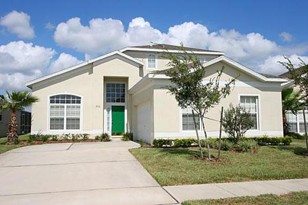 Front of House - Luxury Orlando Villa - Davenport - rentals