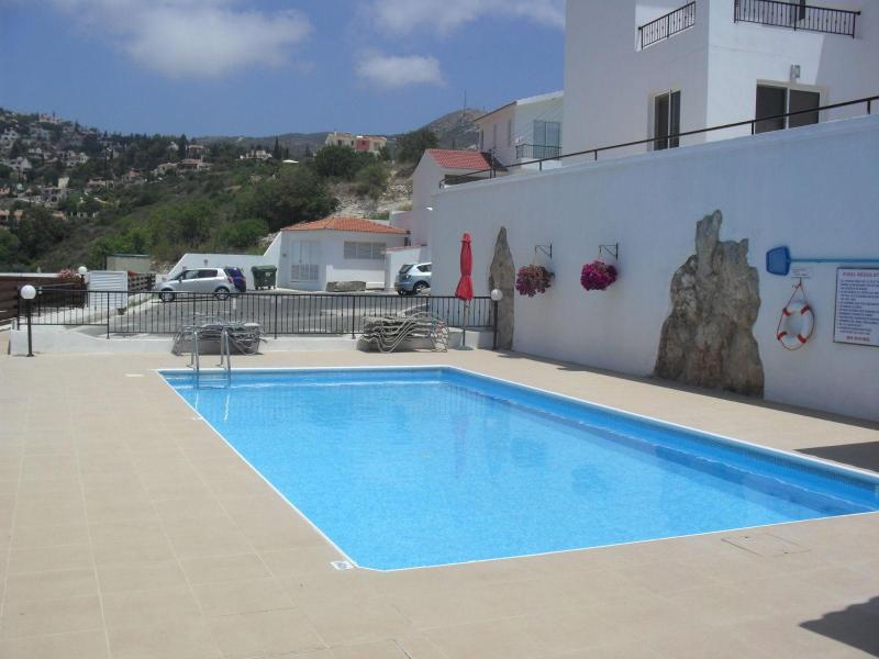 Swimming Pool - Cyprus, Paphos, Nr Coral Bay, Sea View Apartment - Tala - rentals