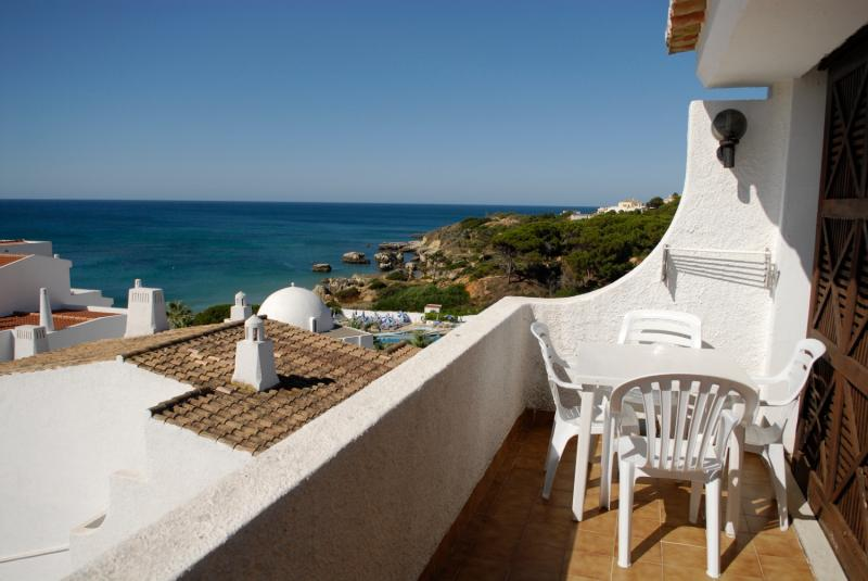 Balcony - One Bedroom Apartment with Sea View - Albufeira - rentals