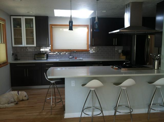 Modern remodeled kitchen - Central Boulder 4 bedroom home with Flatirons View - Boulder - rentals