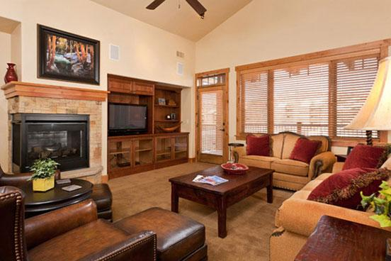 Living Room - Bear Lodge 6308 - 6308 Bear Lodge, Trappeurs - Steamboat Springs - rentals