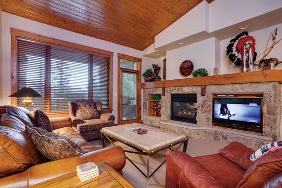 Living Room - Kitzhuhel 1 - 1 Kitzbuhel, Storm Meadows - Steamboat Springs - rentals