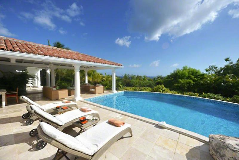 SPECIAL OFFER: St. Martin Villa 95 A Wonderful Honeymoon Or Other Special Occasion Villa Located On The Hillside In Terres Basses Offering Great Views Of The Sea. - Image 1 - Terres Basses - rentals