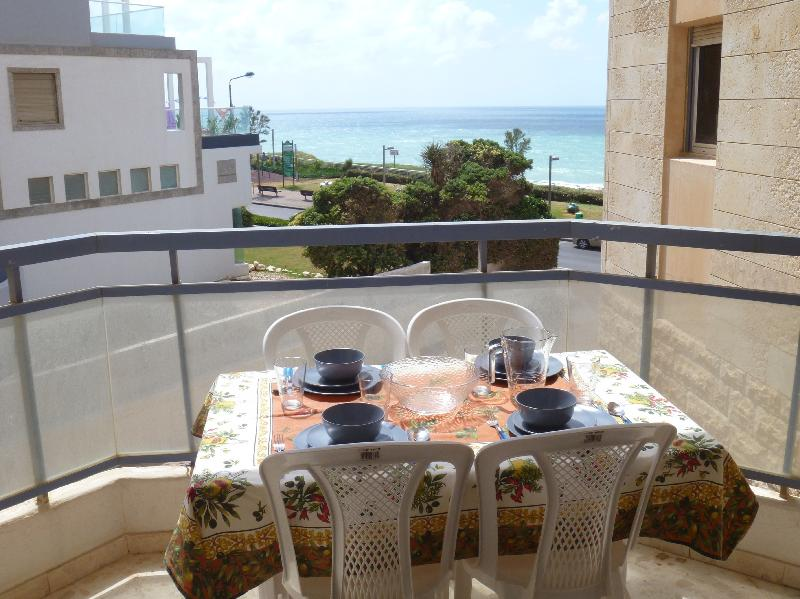 Nitza - Strictly kosher 3 Bedroom Apartment with Outdoor Pool and Sea View - NB02KP - Image 1 - Netanya - rentals